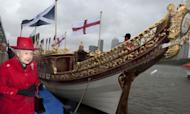 Royal Pomp And Pageantry On The River Thames