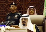 Saudi King Abdullah bin Abdulaziz al-Saud addresses the annual Shura Council in Riyadh, 2011. Saudi Crown Prince Nayef bin Abdul Aziz, a half brother of King Abdullah, died, the royal court said, leaving the oil powerhouse with no apparent successor to the throne