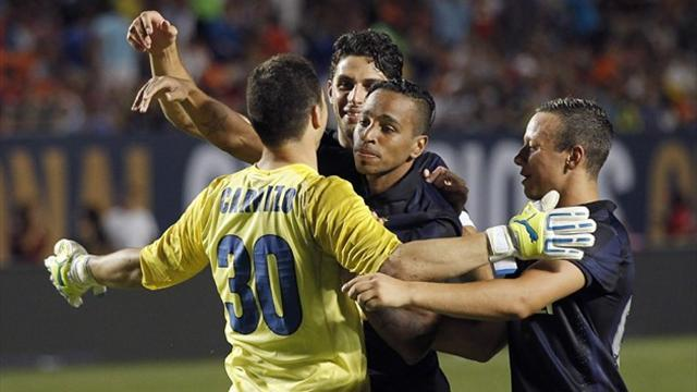 Serie A - Inter down Juventus on penalties in the US