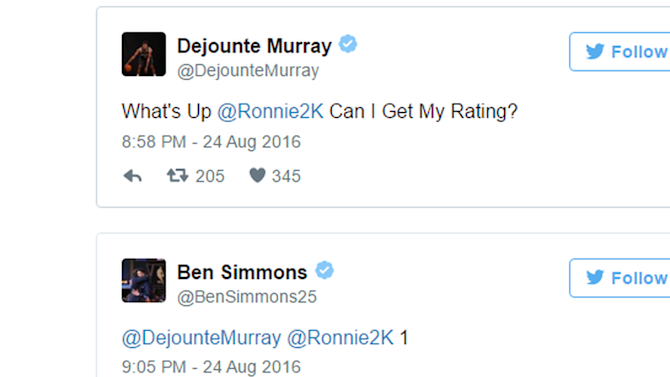 'NBA 2K17' player ratings are leaking, and it's tearing NBA rookies apart