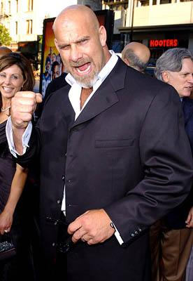 Bill Goldberg at the Hollywood premiere of Paramount Pictures' The Longest Yard