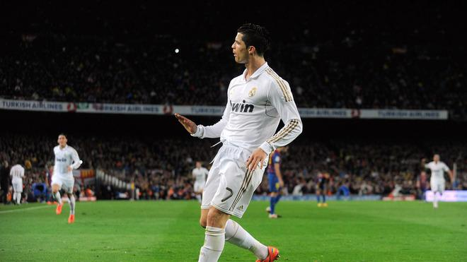Cristiano Ronaldo Of Real Madrid CF Celebrates Getty Images
