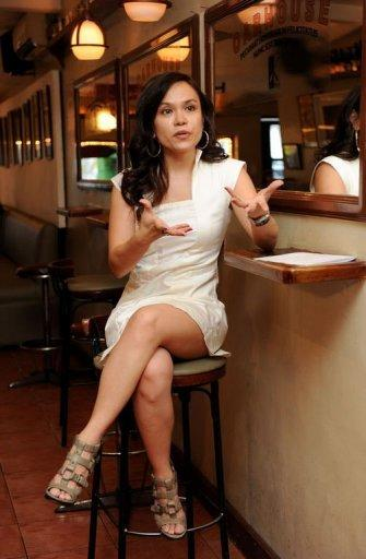 Ana Santos, sex columnist and reproductive health expert, in the Philippines