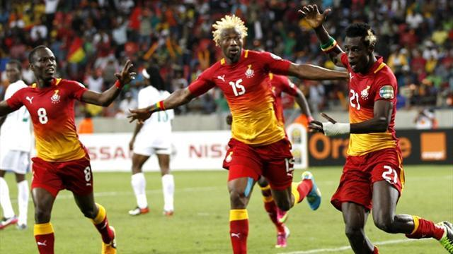 African Cup of Nations - Ghana beat Niger to win group