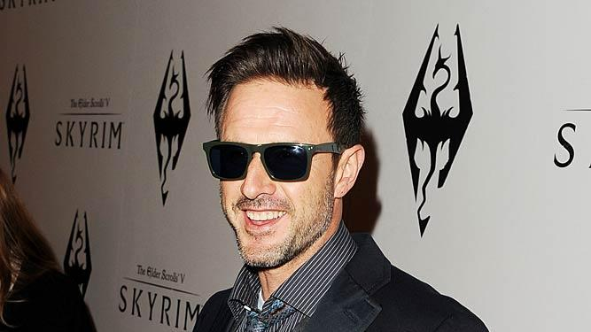 David Arquette Elder ScrollsV Skyrim Launch Party
