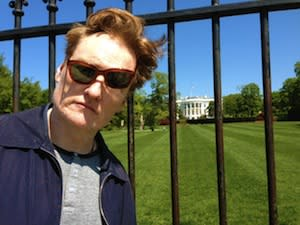 Conan O'Brien Tweets Pic From DC For White House Correspondents' Dinner; CNN Joins Others In Airing Event