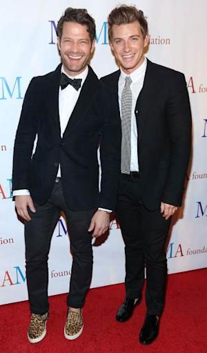 Nate Berkus and Jeremiah Brent attend 'Mama I Want To Sing' 30th Anniversary Gala Celebration at The Dempsey Theatre on March 23, 2013 in New York City -- Getty Premium