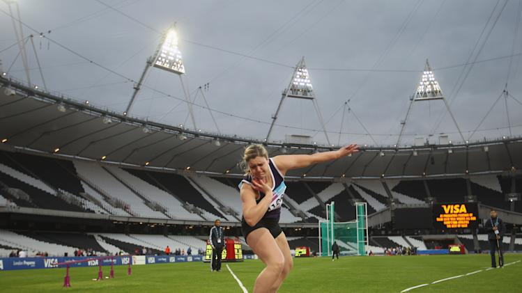 BESTPIX  BUCS VISA Athletics Championships 2012 - LOCOG Test Event for London 2012: Day One