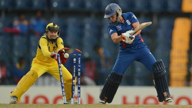 England women lose World T20 final on last ball