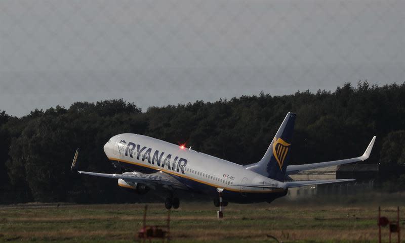Ryanair transportó 12,6 millones de pasajeros en septiembre