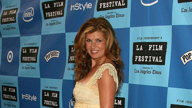 """Connie Britton at the 2006 Los Angeles Film Festival - """"The Lather Effect"""" World Premiere and Q and A."""