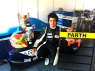 Young Indian racer Parth Ghorpade capped off a great weekend at Round 4 of the 2012 Formula Pilota Championship when he dominated Race 3 at the