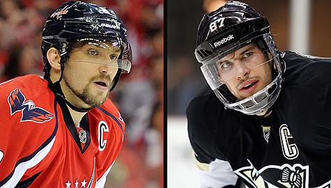 Alex Ovechkin vs. Sidney Crosby