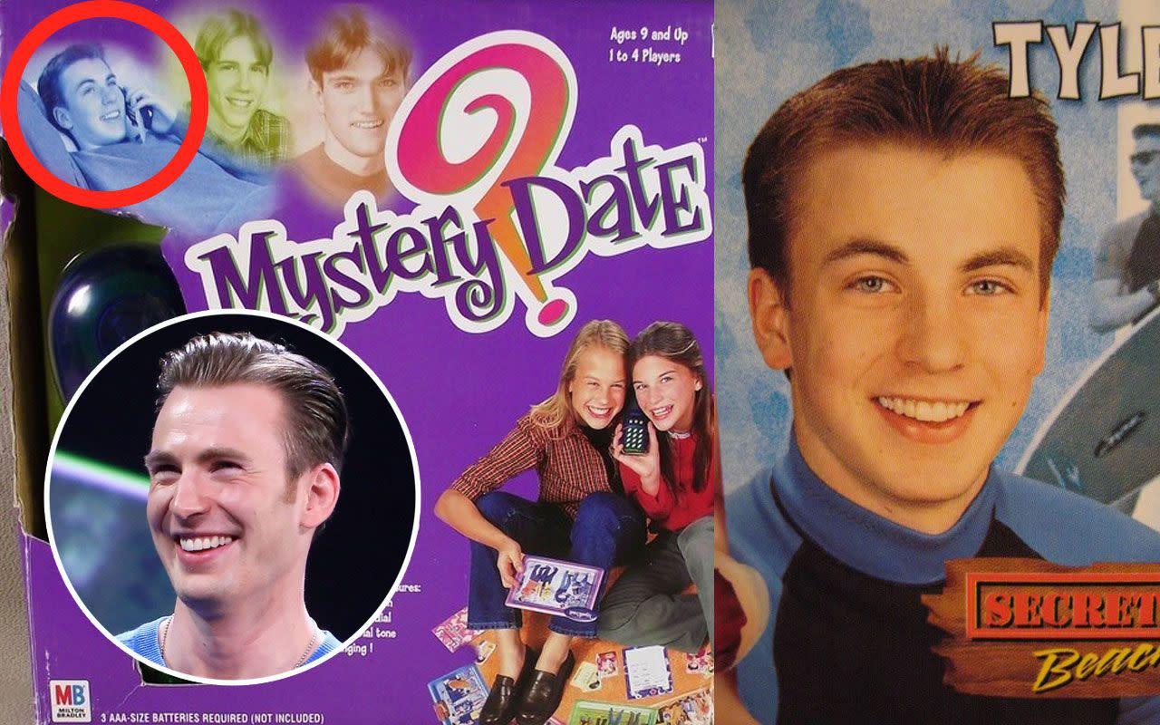 <p>五、克里斯伊凡/「神秘約會」桌遊:早在《美國隊長》之前,克里斯伊凡就已經成為青少女心目中的白馬王子了,因為他曾在孩之寶暢銷桌遊「神秘約會」Mystery Date中飾演性喜衝浪的泰勒。他應該很想忘記這件事。 </p>