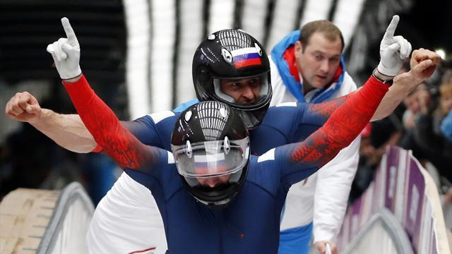 Bobsleigh - Peerless Zubkov proves unbeatable on home ice