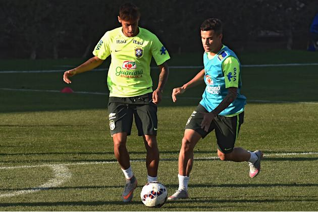 Neymar fails to convince Coutinho to join Barcelona