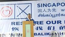 GE 2015: SingFirst hits out at PAP leadership, labels it 'cronyism'