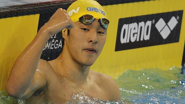 Swimming: Seto wins gold again in Berlin