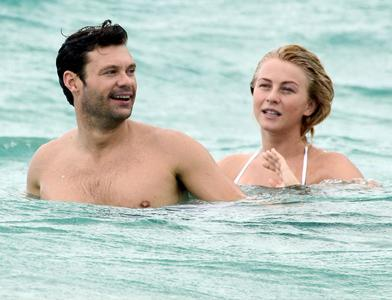Julianne Hough,Ryan Seacrest