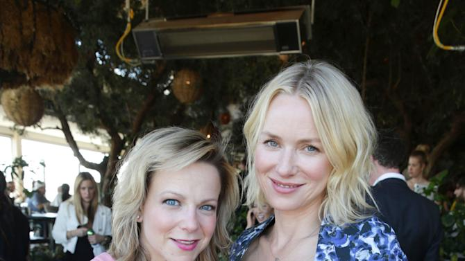 FILE - This Wednesday, March 13, 2013 publicity photo provided by The Hollywood Reporter shows Carol McColgin and Naomi Watts at The Hollywood Reporter and Jimmy Choo Celebration of the Most Powerful Stylists in Hollywood, in Los Angeles. (AP Photo/The Hollywood Reporter, Eric Charbonneau)