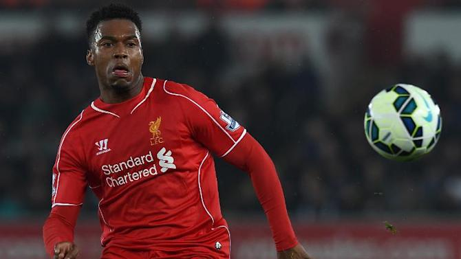 Liverpool striker Daniel Sturridge has been plagued by a variety of fitness problems this season and the England striker hasn't been available for Liverpool selection since their FA Cup quarter-final replay win at Blackburn Rovers earlier this month