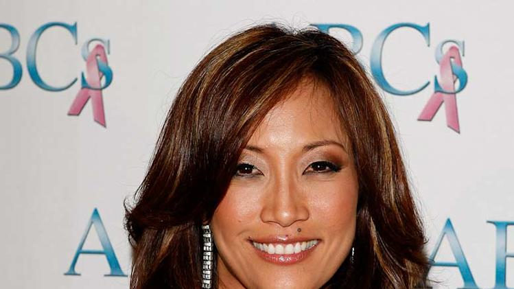 "Carrie Ann Inaba arrives at ""ABC Spirit of Hollywood"" at the Beverly Hilton Hotel."