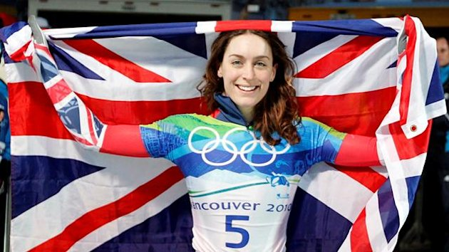 Amy Williams flag