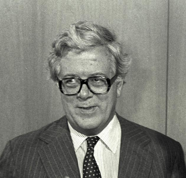 File photograph of former British finance minister Geoffrey Howe