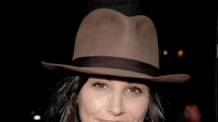 Milk Los Angeles Premiere 2008 Gina Gershon