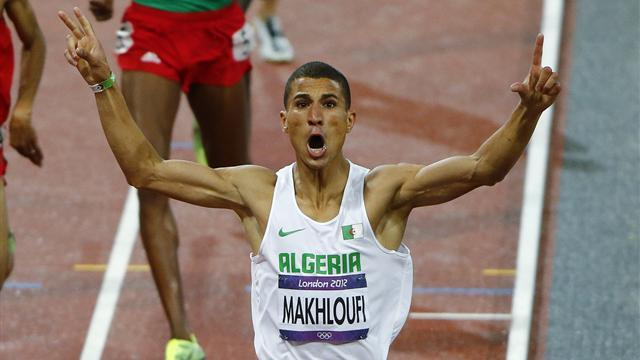 Athletics - Olympic 1500m champ Makhloufi joins world champs absentees
