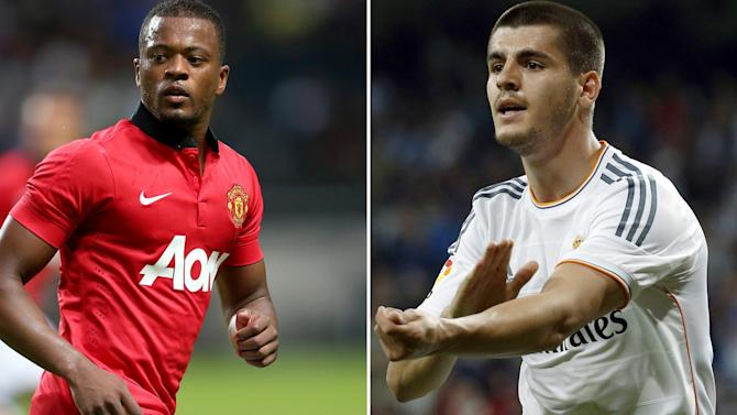 Serie A - Juventus set to unveil Evra and Morata
