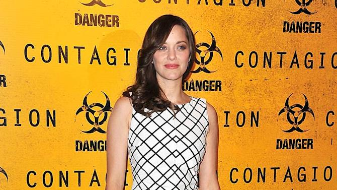 Marion Cotillard Contagion Paris Photocall