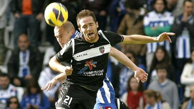 Spanish Liga - Levante go fourth with victory at Depor