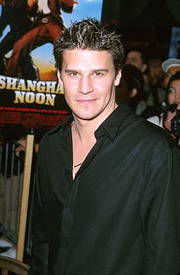 Premiere: David Boreanaz at the Hollywood premiere of Touchstone's Shanghai Noon - 5/23/2000