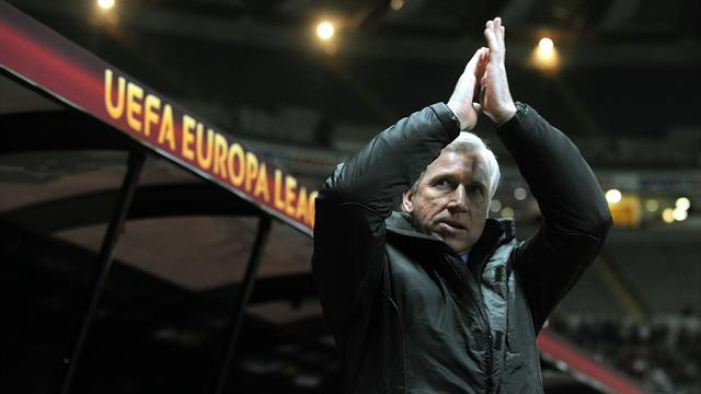 Football - Pardew confident of European progress