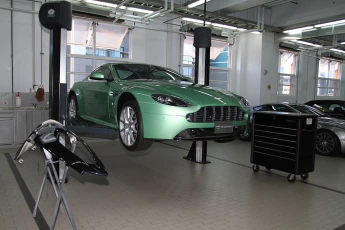 [CARVIDEO 汽車視界] 車壇直擊—Aston Martin先進工藝導覽