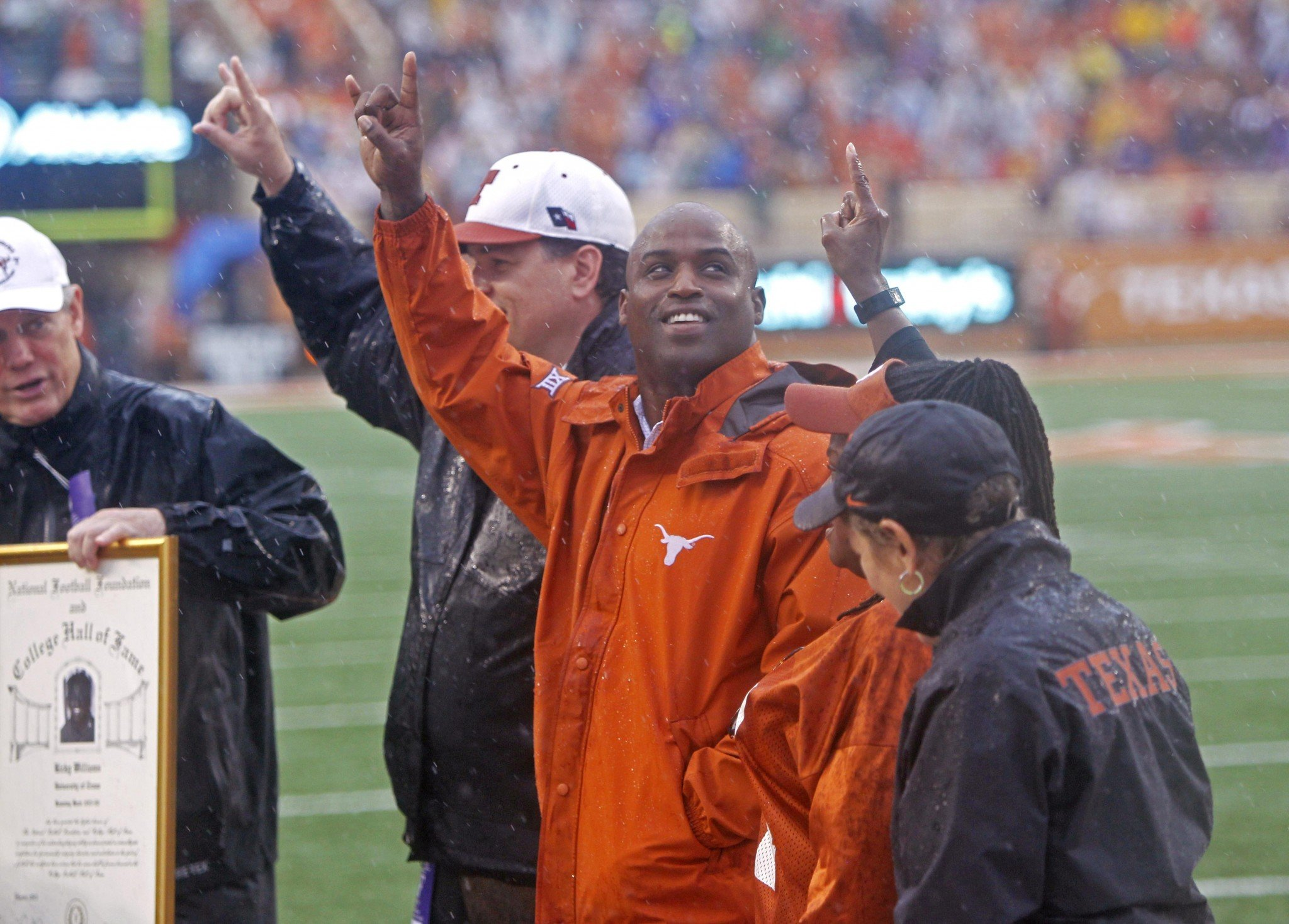 Ricky Williams was a first-round pick in the 1999 NFL draft. (AP)