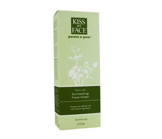 Kiss My Face Exfoliating Face Wash