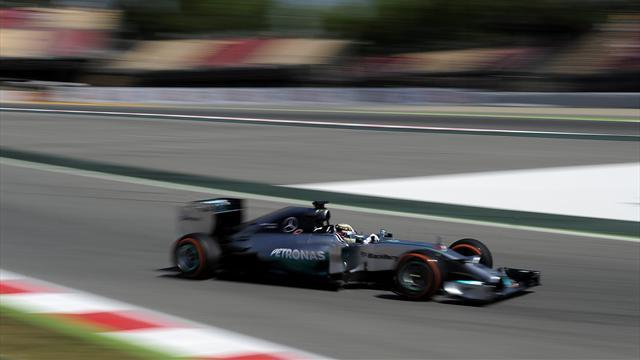 Formula 1 - Hamilton leads first free practice in Barcelona