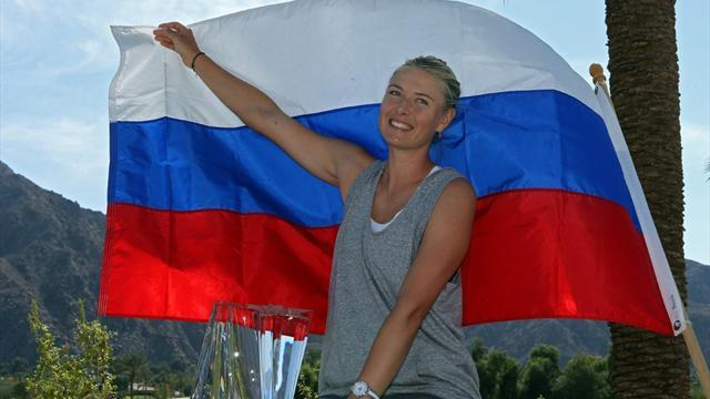 Tennis - Sharapova wants Grand Slams, not top spot