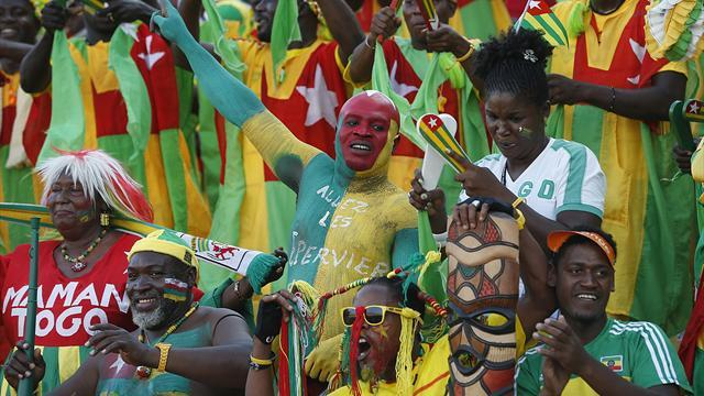 African Cup of Nations - African fans create great atmosphere