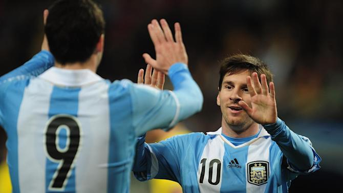 World Cup - Owen tips Messi and Argentina to win World Cup