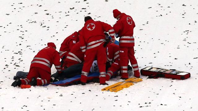 Ski Jumping - Olympic champion Morgenstern 'seriously hurt but conscious' after horror crash