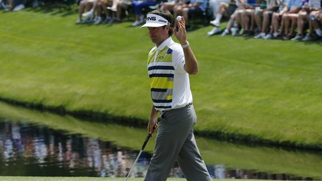 Masters Tournament - Watson grabs lead with birdie blitz as Mickelson misses cut