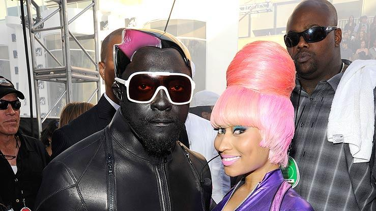 Will I Am Minaj VM As