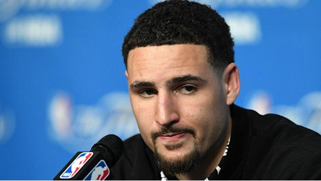 Klay Thompson rips unnamed source who called Warriors 'cowards'
