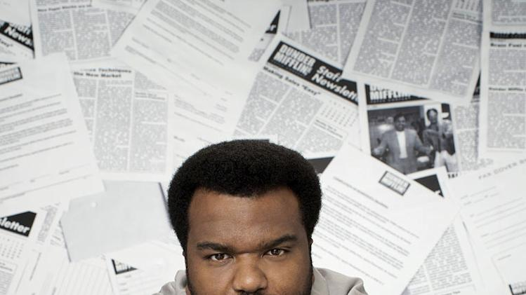 "Craig Robinson as Darryl Philbin in ""The Office."""
