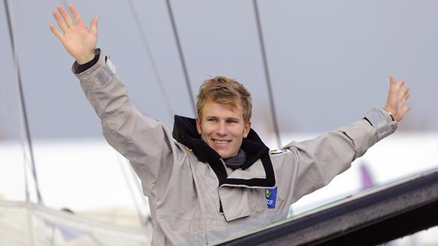 Sailing - France's Gabart wins Vendee Globe round-the-world race