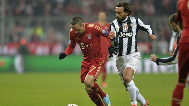 Champions League - Pirlo 'sorry' after Juventus flop in Munich