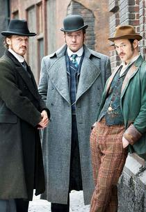 Jerome Flynn, Matthew Macfadyen and Adam Rothenberg | Photo Credits: Tiger Aspect/BBC